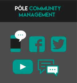 Pôle Community Management